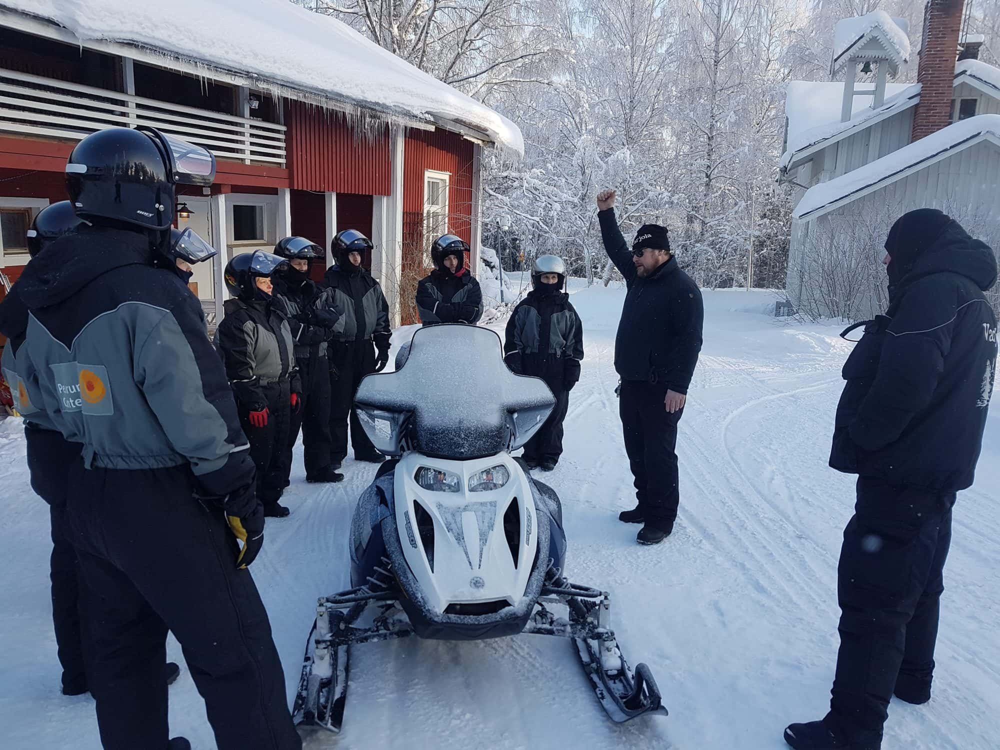 Snowmobile Safari - Varjola Resort & Activities